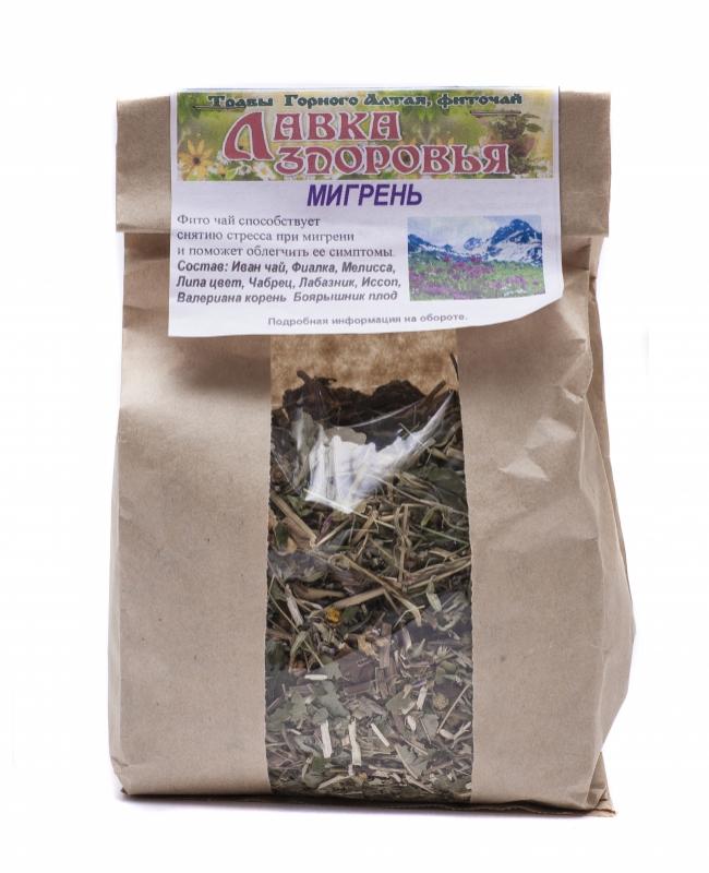 Травы от мигрени с аурой